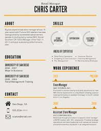 Store Manager Job Resume by How To Make A Graphic Resume Free Resume Example And Writing
