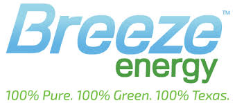 cheap light companies in houston tx texas wind energy company electricity supplier breeze energy