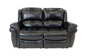 maddox black power reclining loveseat mor furniture for less