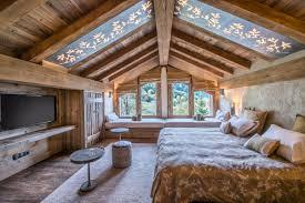chambre chalet luxe chalets du hameau méribel