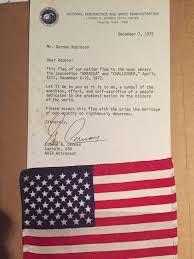 How Many Flags Have Flown Over Texas Apollo 17 Flown Flag Orbit Or Surface Collectspace Messages