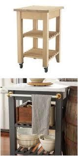 the 25 best portable kitchen island ideas on pinterest an ikea kitchen cart with a bit of rustic charm ikea kitchen cart