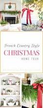 french country christmas blogger christmas home tour
