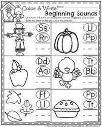 november preschool worksheets preschool worksheets beginning