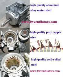 industrial exhaust fan motor axial ventilation fan
