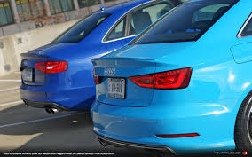porsche riviera blue paint code audi exclusive visual comparison riviera blue vs nogaro blue