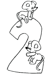 coloring page of a rat number 2 coloring page rat coloring pages best of number 2 coloring