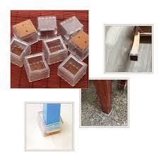 Best Chair Leg Protectors For Hardwood Floors by Amazon Com Chair Leg Caps Nuolux 38x38x33mm Silicone Chair Leg