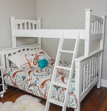 Pottery Barn Twin Bed Twin Over Full Bunk Bed By Pottery Barn Kids Ebth