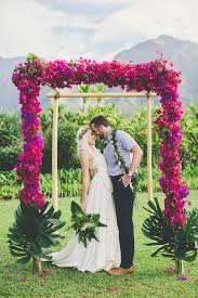 hawaiian weddings cool colourful gorgeous hawaiian wedding