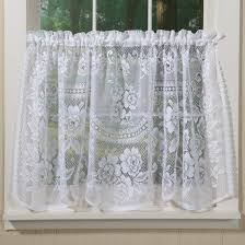 White Cafe Curtains Decoration White Sheer Cafe Curtains Cafe Curtains For