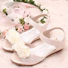 Wedding Shoes Off White New Arrival Handmade Pearls Ivory U0026off White Kids Flower Girls