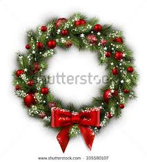 christmas reefs christmas wreath stock images royalty free images vectors