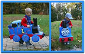 Train Halloween Costume Toddler Homemade Halloween Costume Thomas Train