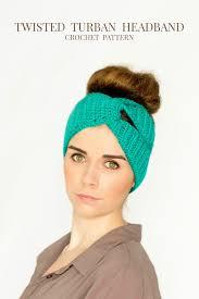 infinity headband hopeful honey craft crochet create twisted turban headband