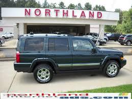 2006 deep beryl green pearl jeep commander limited 4x4 33189082