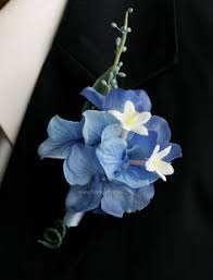 blue boutonniere blue hydrangea boutonniere search and ila wedding