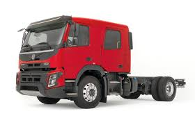 red volvo truck volvo fl and fmx trucks now available in crew cab guise