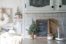 kitchen decorating christmas counter decorations cooking gifts