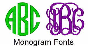 monogrammed fonts 1820 gif