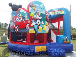mickey mouse clubhouse bounce house for kids