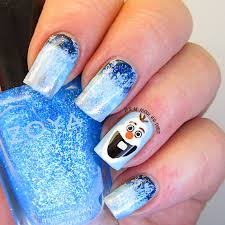 it u0027s all about the polish an monday theme disney olaf from