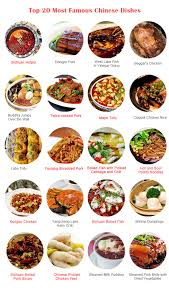 popular cuisine what are the most dishes