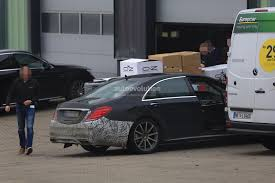 2018 mercedes amg s63 4matic lang spied with full roll cage at