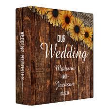 rustic wedding albums wedding albums gifts on zazzle