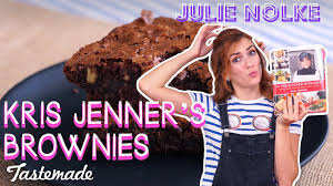 Kris Jenner Kitchen by Kris Jenner U0027s Brownies 5 Second Rule With Julie Youtube