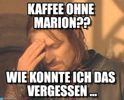 kaffee ohne marion frustrated boromir meme on memegen