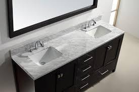 72 Double Sink Bathroom Vanity by Virtu Usa 72 Inch Caroline Avenue Bathroom Vanity In Espresso