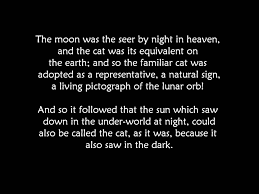 symbolizes meaning the black cat egyptian symbol for the moon youtube