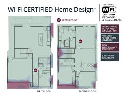 blueprint for houses your new house could have built in wi fi and alexa in your walls