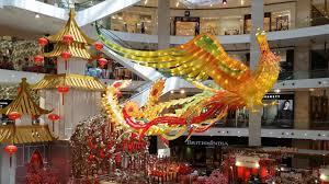 cny2017 chinese new year decoration pavilion kuala lumpur 4k