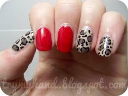 cheetah print nail art nail art