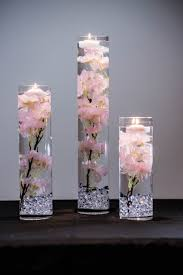Cherry Blossom Tree Centerpiece by Submersible Pink Or White Cherry Blossom Floral Wedding