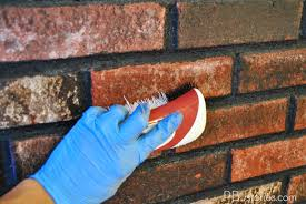 How To Clean The Walls by Pbjstories How To Paint An Interior Brick Wall Pbjreno