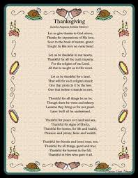 free thanksgiving poems for family and friends free quotes