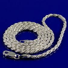 silver rope chain bracelet images 5mm italian triple rope chain 925 sterling silver 24 inches jpg