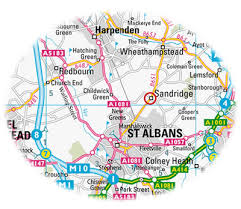 map of st albans st albans home removals and storage solutions alban