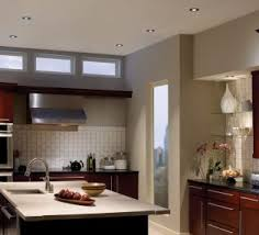 Led Lighting For Kitchen by Best Recessed Lighting For Kitchen With Decorative Wall Shelves
