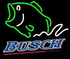 busch light neon sign new busch beer bass fish beer neon light sign 20 x16 ebay