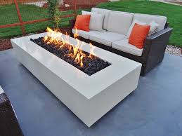 Patio Firepit Modern Propane Pit Pits Modern Contemporary Outdoor Gas