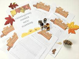 thanksgiving meal planning printables for your thanksgiving dinner