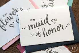 bridesmaid card wording to my bridesmaid cards heart style marrygrams