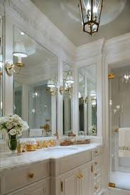 built in bathroom mirror traditional bath with soaking tub turquoise tone to shower glass