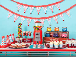 creative 1st birthday party decoration further minimalist article