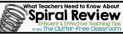 the importance of spiral review for effective student learning