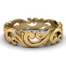 filigree wedding band gold filigree wedding rings uk criolla brithday wedding